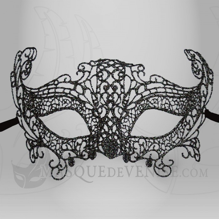Masque loup dentelle loup v nitien dentelle masque de venise - Masque loup a imprimer ...