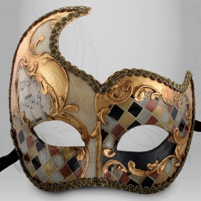 Masque loup lune mosa que masquelune mosa que v nitien loup carnaval carnaval de venise - Masque de carnaval de venise a imprimer ...