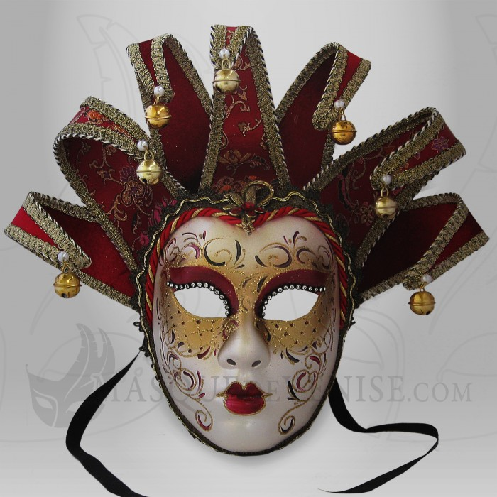 masque de venise visage joker femme masque f minin masque carnaval strass. Black Bedroom Furniture Sets. Home Design Ideas