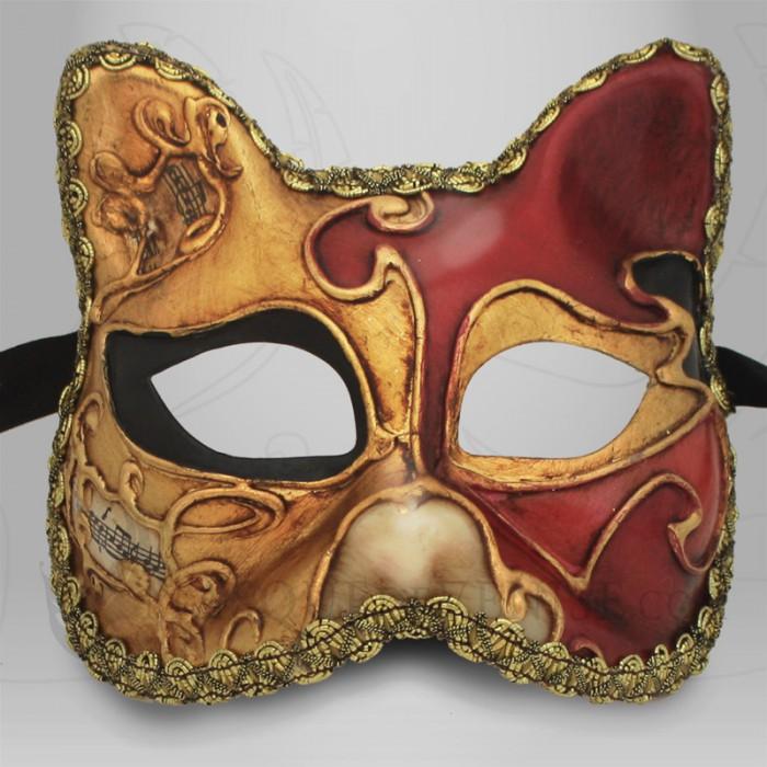 Masque de venise chat musique masque carnaval enfant masque v nitien - Masque de carnaval de venise a imprimer ...