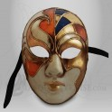 Masque Visage Vitrail